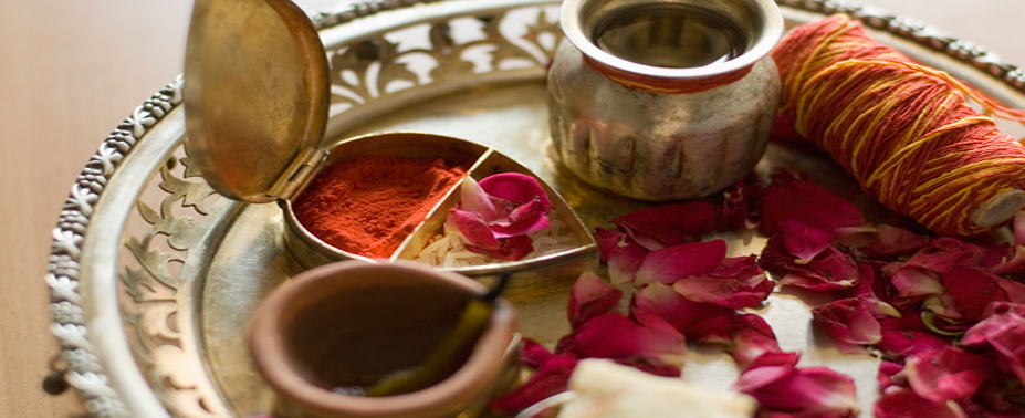 Whether in your home or your local Hindu Temple, Pandit Sharma will bring Joy and a Wealth of Blessings to your Pooja ceremony.