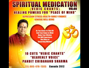 Spiritual Medication Vedic Chants - ChidanandSharma